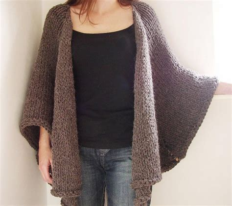 alpaca cape jacket knit one