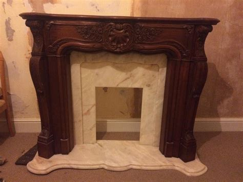 5 great fireplace and hearth mahogany solid wood fireplace surround with marble hearth