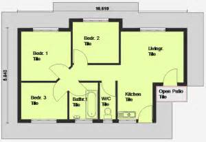 Simple Three Bedroom House Plan by Luxury 3 Bedroom House Plans 3 Bedroom House Plan South