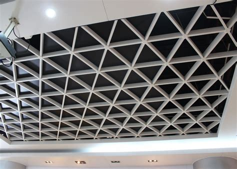 Ceiling Tile Grids by Wide Suspension Grid Metal Ceiling Grille Open Cell