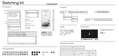 Adobe Illustrator Toolbox For Web And Mobile App Designers Illustrator Wireframe Template
