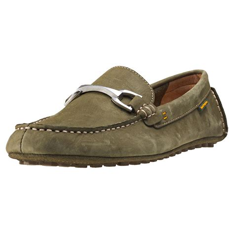 hush puppies moccasins hush puppies longin terveen mens moccasins in olive