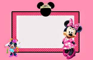 minnie mouse template invitations minnie mouse birthday invitations templates custom
