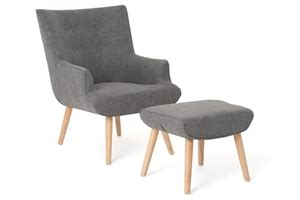 accent chair with ottoman australia unica fabric upholstered accent chair ottoman