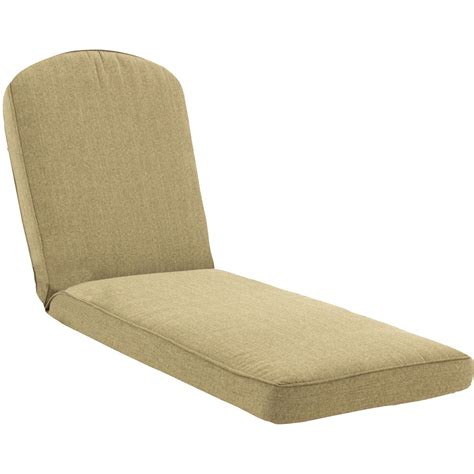 replacement chaise cushions sunbrella sunbrella linen sesame extra long outdoor replacement