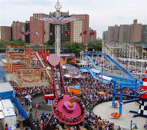theme park new york the theme parks at coney island new york pinterest
