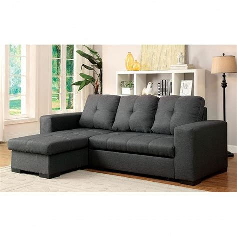 storage chaise sofa sectional w storage chaise and sofa bed