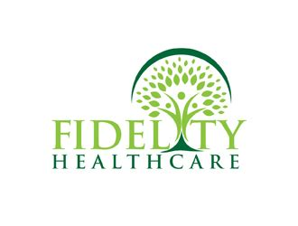 fidelity healthcare logo design 48hourslogo