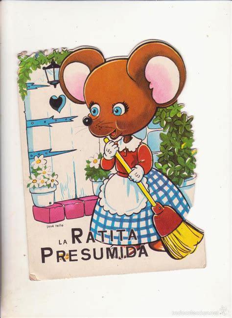 la ratita presumida troquelados 8478641858 cuento troquelado la ratita presumida comprar libros de cuentos en todocoleccion 58612508