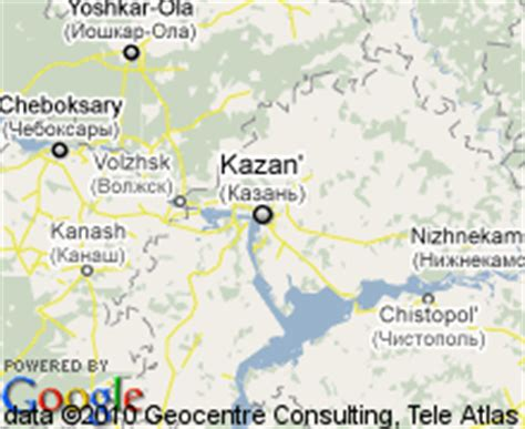 maps kazan russia russia map kazan