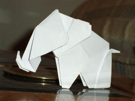 How To Fold Origami Elephant - origami elephant by munkichii on deviantart