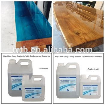 liquid glass for table top clear bar table top epoxy resin coating for wood