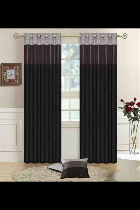 black curtains for living room living room curtains idea black grey silver for the home