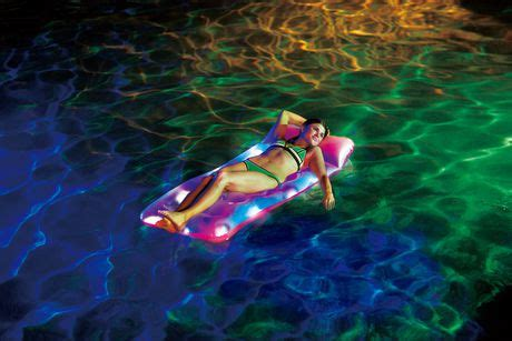 light up pool floats aqua glow light up pool float walmart canada