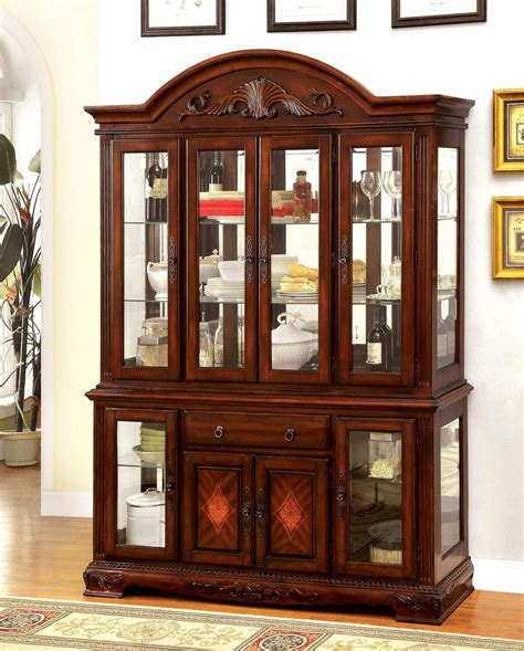 dining room china buffet 2015 best auto reviews petersburg hutch buffet set in cherry finish foa