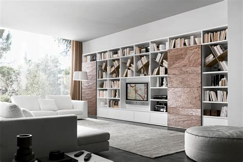 libreria moderna udine stunning librerie moderne per soggiorno ideas ameripest