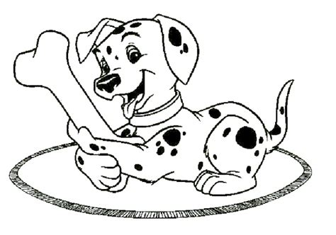 dalmatian puppies coloring pages 101 dalmatians coloring pages