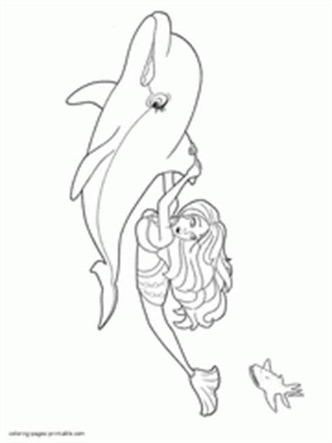 mini barbie coloring pages barbie in a mermaid tale coloring pages