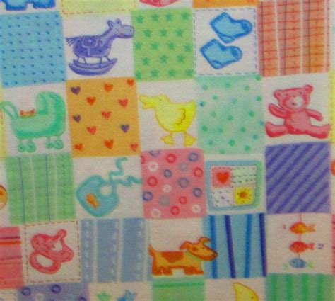 Patchwork Items - baby items nursery pastel patchwork free spirit fabric ebay