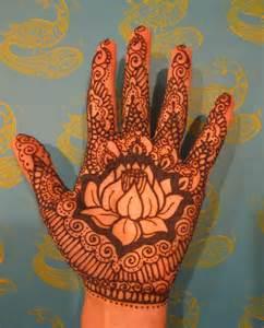 Mehndi Lotus Flower Lotus Mehndi Mazzucco