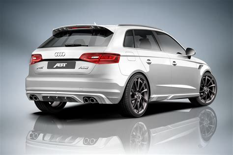 Abt Audi A3 by New Abt As3 Is An Audi A3 Sportback With More Power And