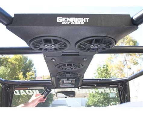 Best Speakers For Jeep Wrangler Jeep Sound Bar Speakers Just Jeepin