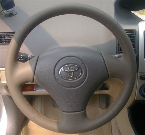 toyota steering wheel toyota corolla e12 steering wheel recovering kit