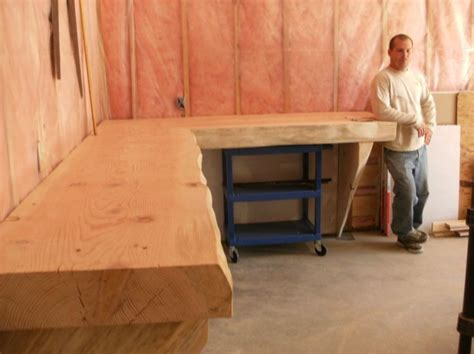 it work bench work bench in an quot l quot shape woodworking pinterest