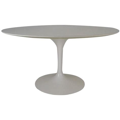 Original Marble Tulip Dining Table By Eero Saarinen Original Marble Tulip Dining Table By Eero Saarinen For