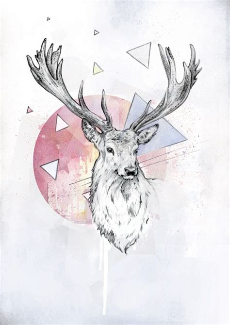 tattoo illustration pinterest deer skull tattoos tumblr google search tattoos