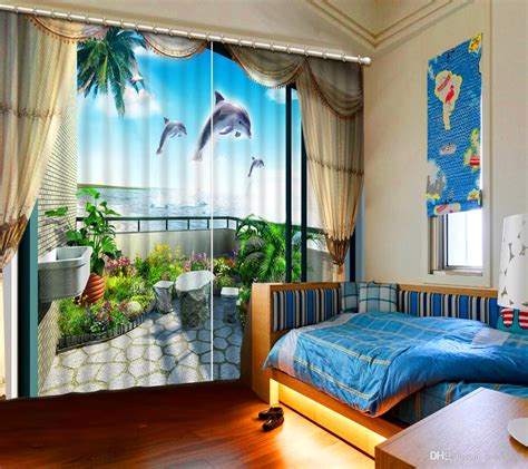 home decor direct 2017 balcony beach top quality home decoration fashion 3d