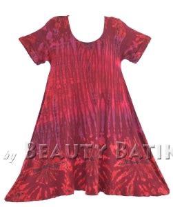 Hem Batik Pekalongan 26 womens boho hippie batik tie dyetunic blouse kaftan top m l 1x 2x 3x 4x 22 24