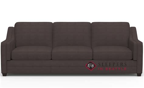 Customize And Personalize Corissa Queen Fabric Sofa By Palliser Sleeper Sofa