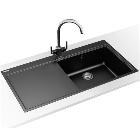 fragranite kitchen sinks franke mythos designer pack mtg 611 fragranite onyx sink