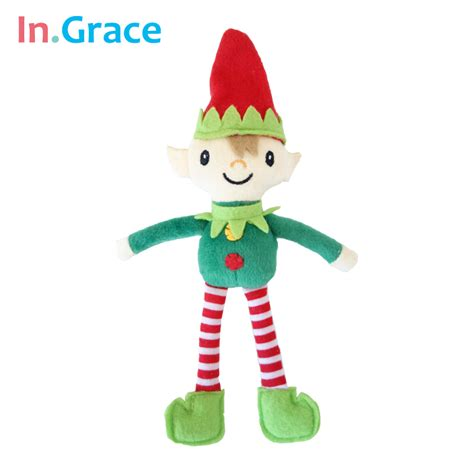 online get cheap christmas plush elves aliexpress com