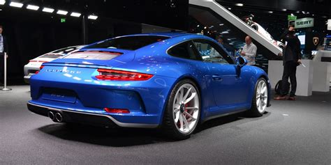 porsche  gt touring pack revealed manual  gt