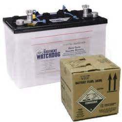 basement watchdog backup battery battery acid basement watchdog spd wdbatteryacid