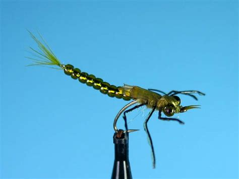 glass bead fly patterns glass bead damsel nymph