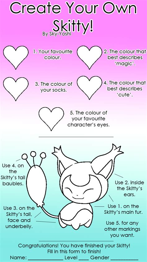 How To Make Own Meme - create your own skitty meme by sky yoshi on deviantart