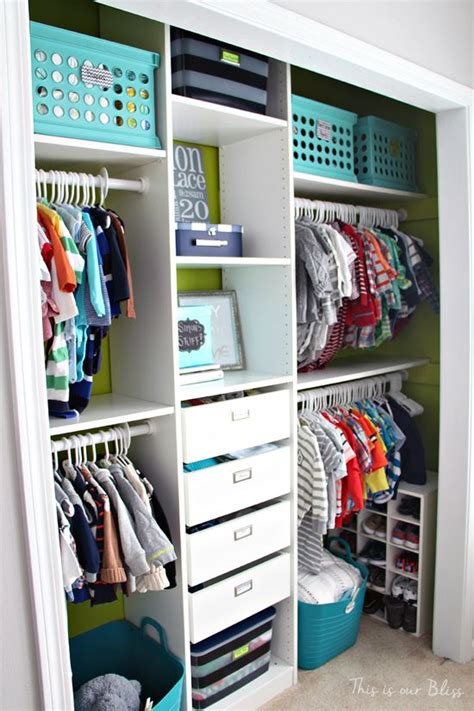 Baby Boy Closet Organizers by Best 25 Kid Closet Ideas On Toddler Closet Organization Organize Closets And