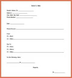 urgent care doctors note template bio example