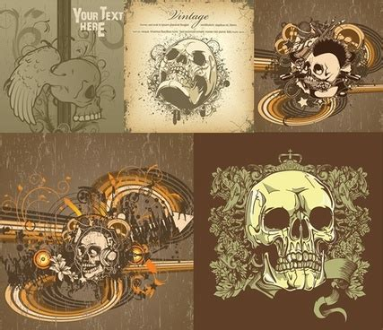 decorating with skulls a bold and daring trend flaming skull vectors free vector download 1 775 free