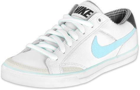 Blue White Gr6071 nike ii w shoes white blue