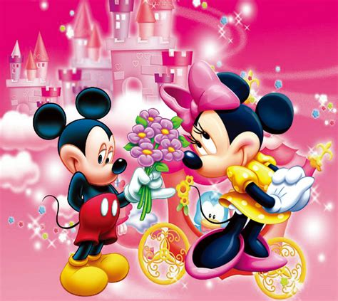 Custom Mickey Mouse 01 aliexpress buy 8x8ft minnie mickey mouse pink castle