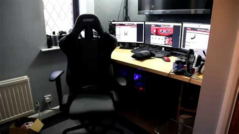 Gt Omega Racing Pro Gaming Office Chair First Look Gaming Office Desk