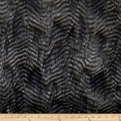 faux fur upholstery fabric faux fur fancy feather silver discount designer fabric