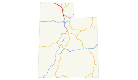 map of oregon highway 84 interstate 84 in utah