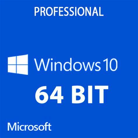 Microsoft Windows 10 Pro 64bit Oem microsoft windows 10 professional system builder oem dvd 64 bit falcon computers