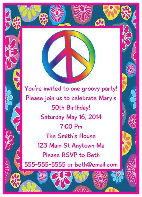 S Love Peace  Ee  Teen Ee   Tween Hippie Digital  Ee  Birthday Ee   Party