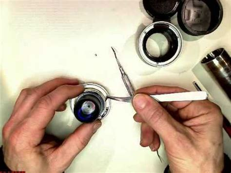 fixing the loose aperture ring in leica summicron m 1:2/35